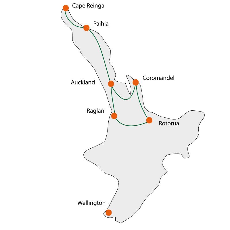 International Studenttour - North Island Explorer