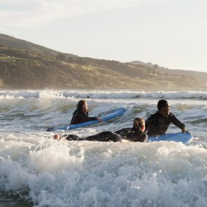 Surfing Raglan