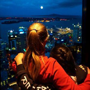 Auckland Skytowe night