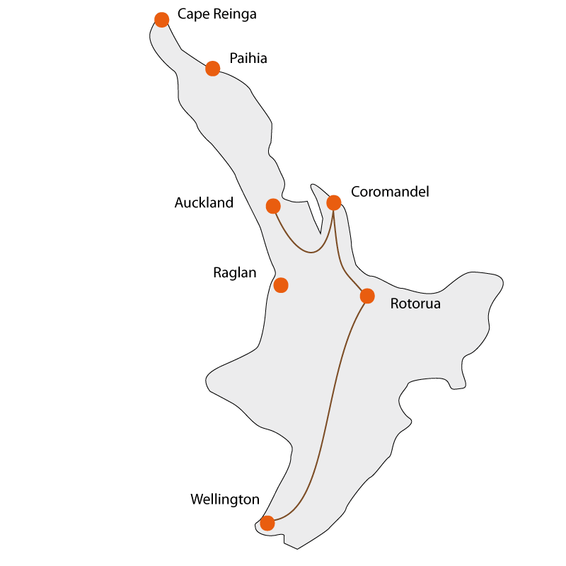April Tours – North Island Experience