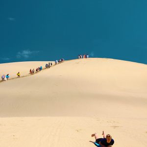 international student tours Sandboarding